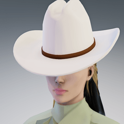 Cowgirl Hat - Female