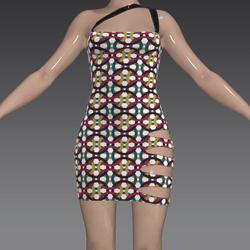 Sexy Retro Dress Circle