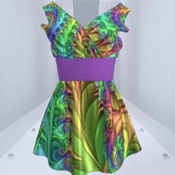 Sexy Satin Dress #3