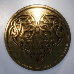 ANCIENT GOLDEN HEART SYMBOL