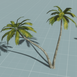 Palm Trees 2v1 (animated)