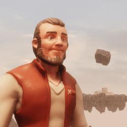 Hushkal's : Adventurer 01 : orange top