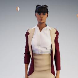 Woman 3 Piece Suit