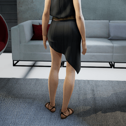 SISSI skirt black