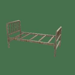 Old Hospital Bed