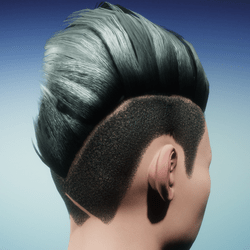Female Shaved Wave