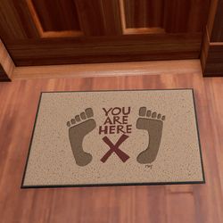 Door Mat You Are Here