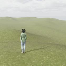 Hill Terrain - Grassy - E01