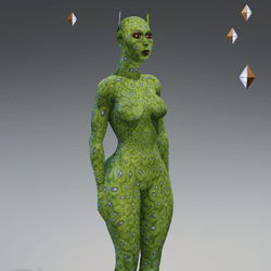 Green Elf Avatar