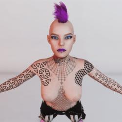 Matrix Body Tattoo Daphne