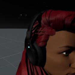Headphones Black F