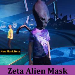 Zeta Alien Mask