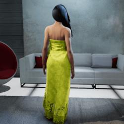 Polynasian Wrap Dress #3