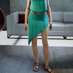 SISSI skirt mint