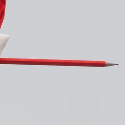 Pencil in the ear (TM)