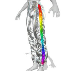 Female Pants with animation