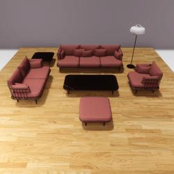 Anemos furniture set