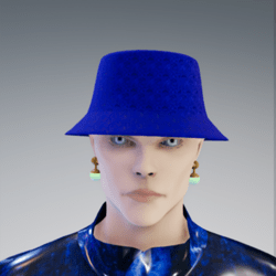 Bucket // Blue