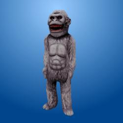 White Gorilla Costume