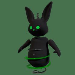 Robo Bunny Green