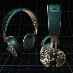 Polygone ~ Headphones Camo Ice