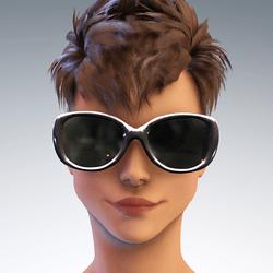 Sunni  Sunglasses - Silver AV 1