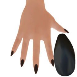 Claw Nails black
