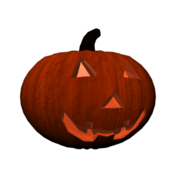 Pumpkin Head (Female)