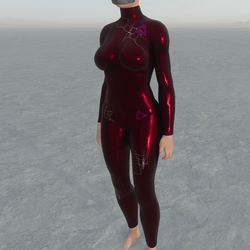 KAPOW! Gamer girl body suit (electric pink version)