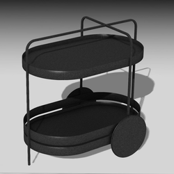 Serving cart, Trolley 003
