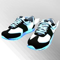 Messenger GlowInDark Green Sneakers