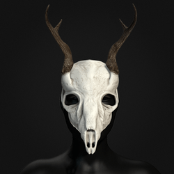 Deer Skull Mask - Female