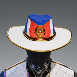 Russian Flag and Crest Hat