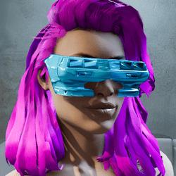 Cyberpunk Retro Sunglasses Female