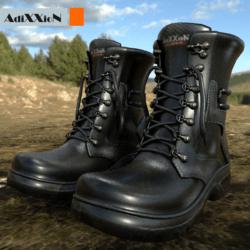 Ultra Black Boots AdiXXioN