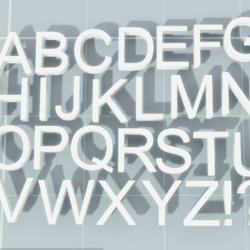 ABC - ARIAL Font