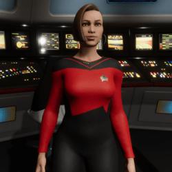 Star Trek Starfleet Officer Uniform (TNG Season 1&2 Uniform)