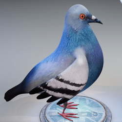 Pigeon avatar v2.0
