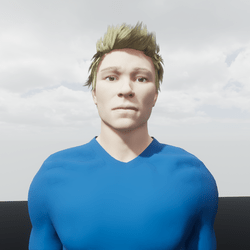 "Avatar Male ""Carl"""