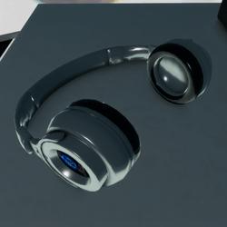 Headphones Brand Resale Silver