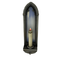 Gothic Mirror with Candle