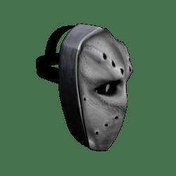 White Battle Mask (Male)