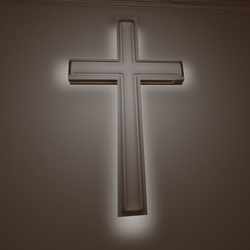 Backlit Wall Cross