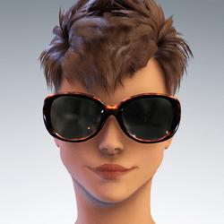Sunni  Hollywood Glasses - Tortoise Shell Avatar 1