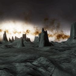OUTER SPACE PLANET LANDSCAPE/TERRAIN