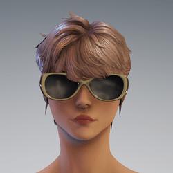 Sunni Glasses AV2 Tan - no reflection glass