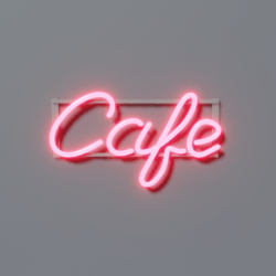Cafe Neon - Pink