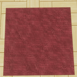 CARPET/RUG/FLOOR RED FABRIC ROPE STYLE