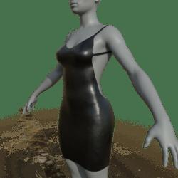 Womens deep V neck