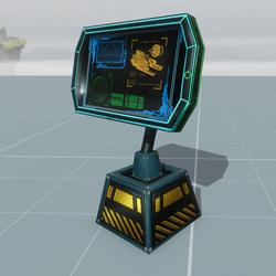 Sci-fi multi-purpose display